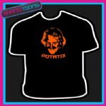 POTATO  KEITH LEMON CELEBRITY FUNNY SLOGAN TSHIRT